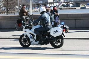 Helsinki PD Motorcycle Unit.