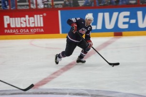 Team USA captain Paul Stastny.