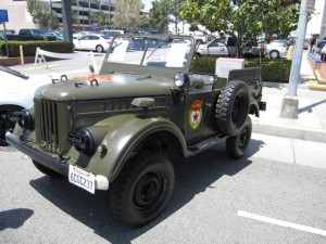 Gaz 69 USSR Military Vehicle, Jeep copy.