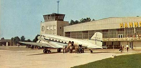SAS operated Douglas DC3 late 1950's early 1960's