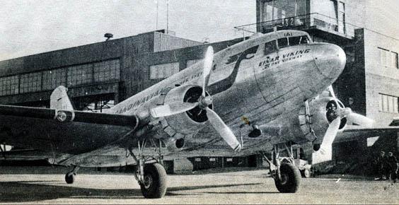 Closeup of the DC3