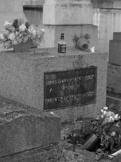 James Douglas Morrison's final resting place