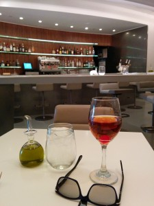 A Manhattan at the Wright in the Guggenheim on Manhattan