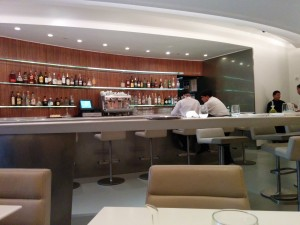 The Bar in the Wright restaurant at the Guggenheim in NYC
