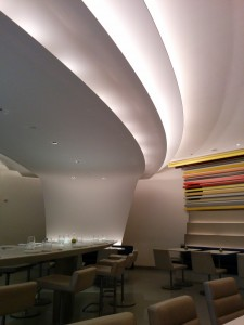 The Wright restaurant at the Guggenheim in NYC