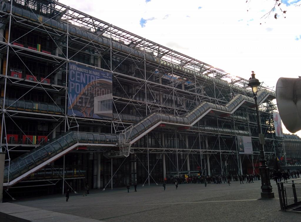 Centre Pompidou Musée National d'Art Moderne Paris France
