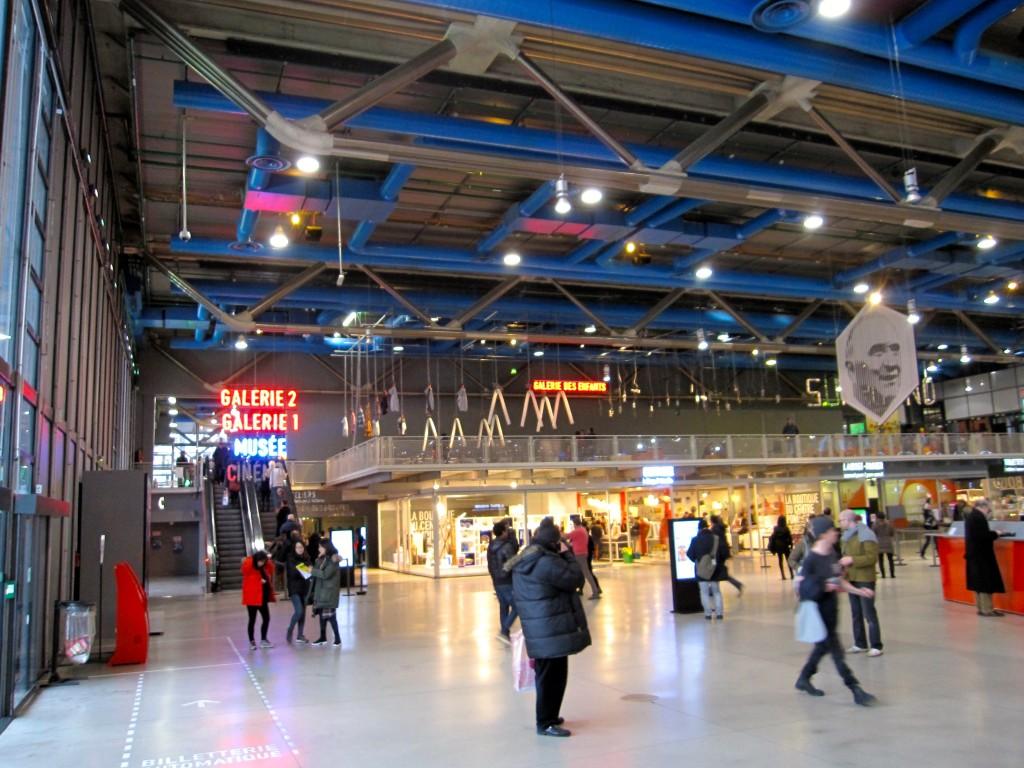 Entrance Hall at Centre Pompidou