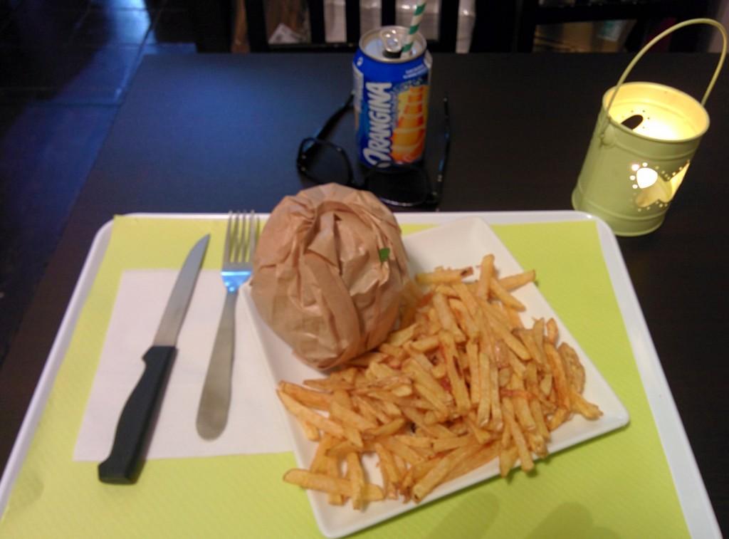 VG Burger combo