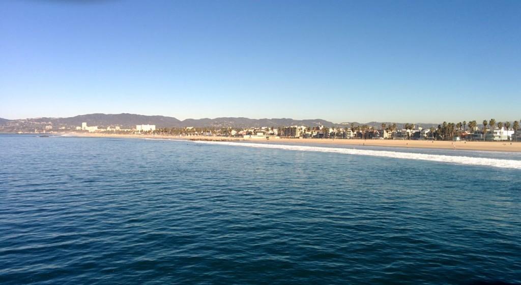 The Pacific Coastline Venice CA