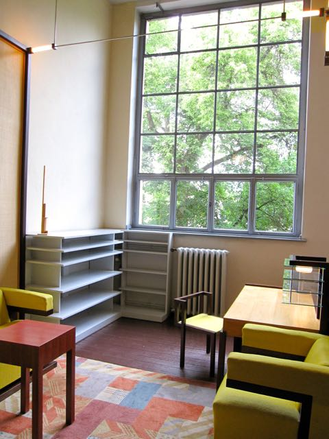 Walter Gropius office at the Bsuhaus University in Weimar