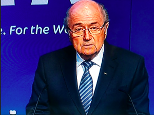 Sepp Blatter announces resignation from FIFA