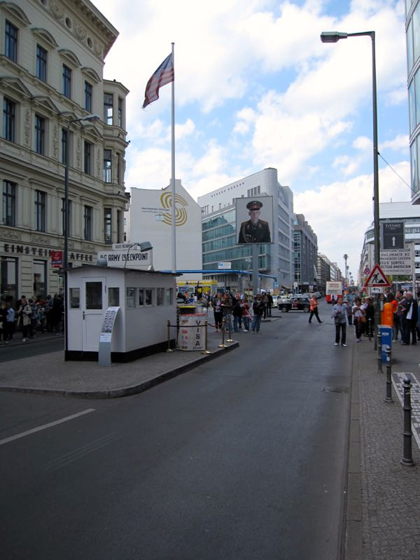 Former Allied Checkpoint Charlie
