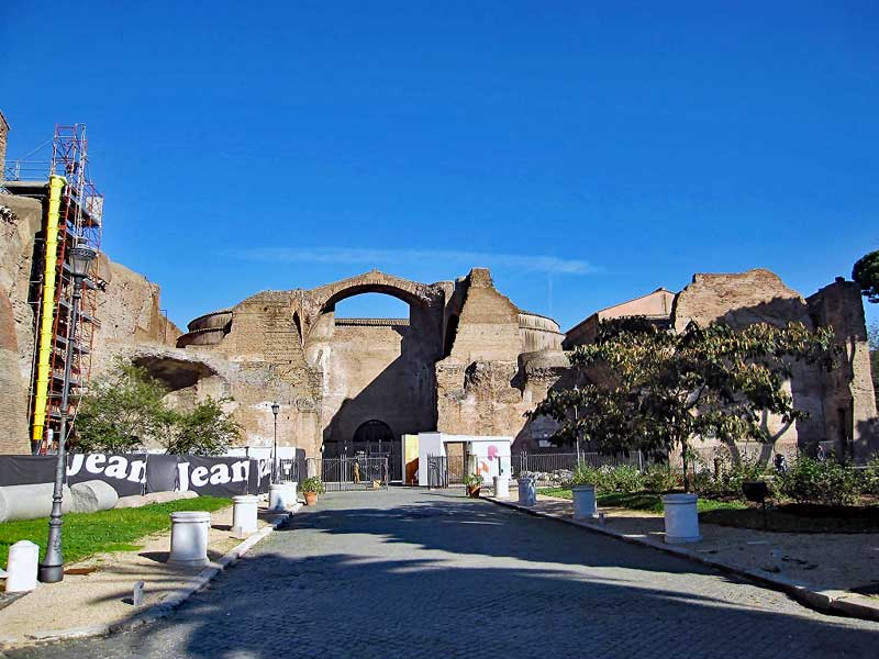 Rome the baths of Diocletian