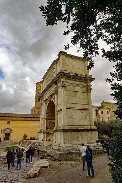 Arch of Titus at the Forum