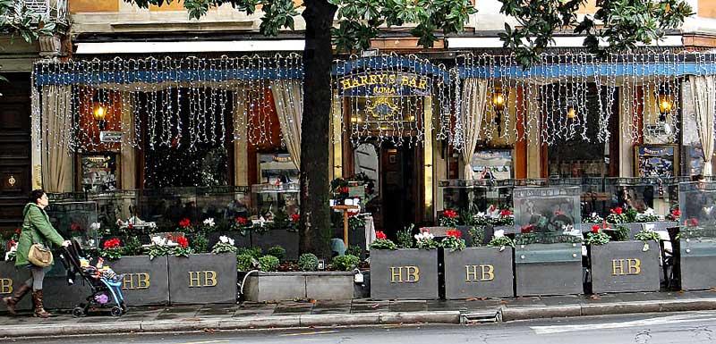 Harry's bar Via Veneto in Rome