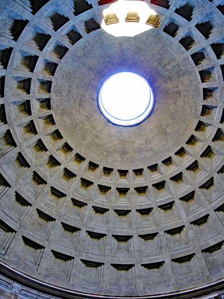 Pantheon ceiling detail