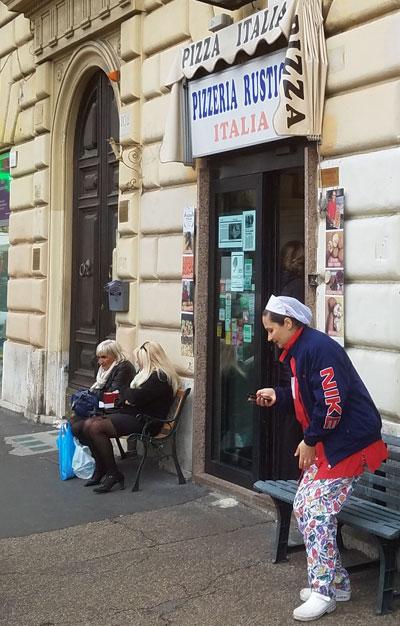 Pizzeria rustica Italia in Rome