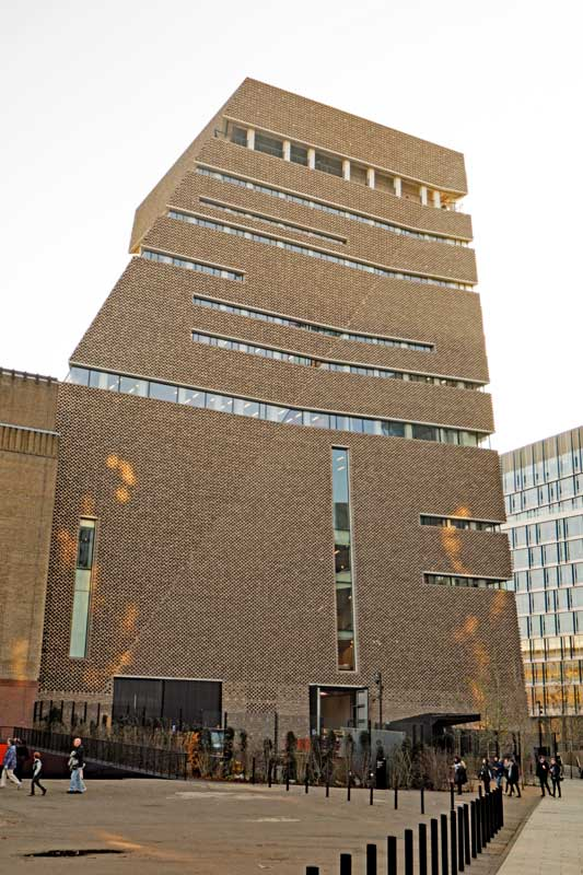 The new Switch House at Tate Modern in London designed by Swiss architectural firm Herzog & de Meuron.