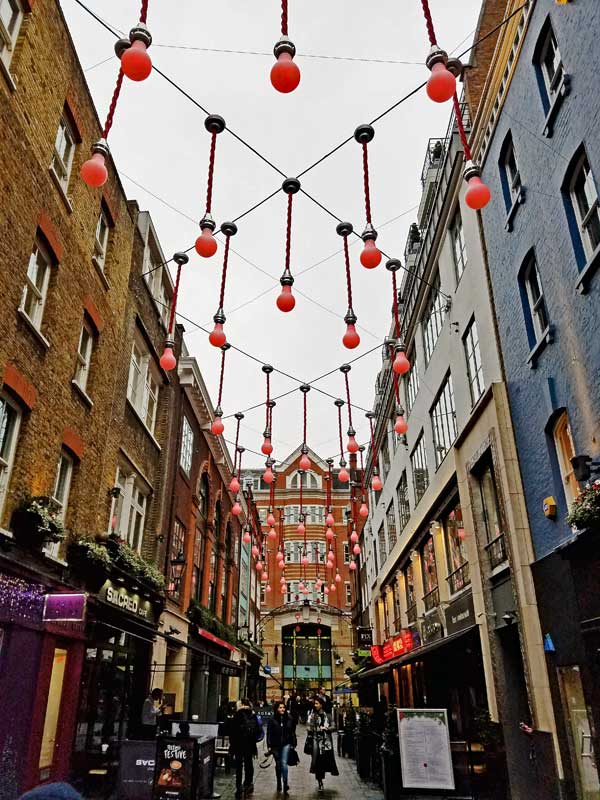 Carnaby Street W1 City of Westminster