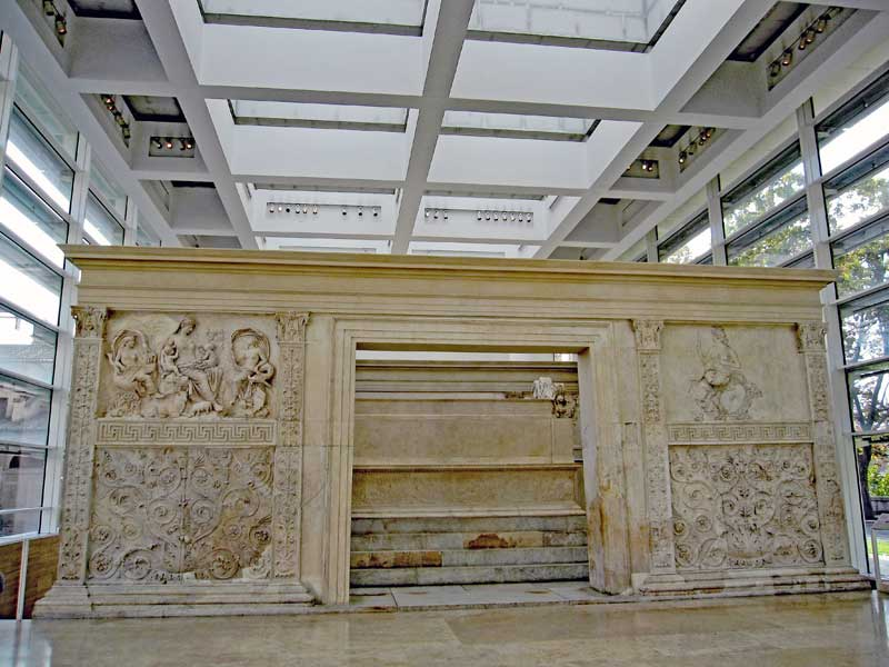 Ara Pacis from the other side