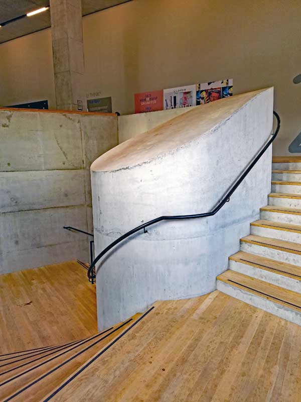 Staircase in the Switch House