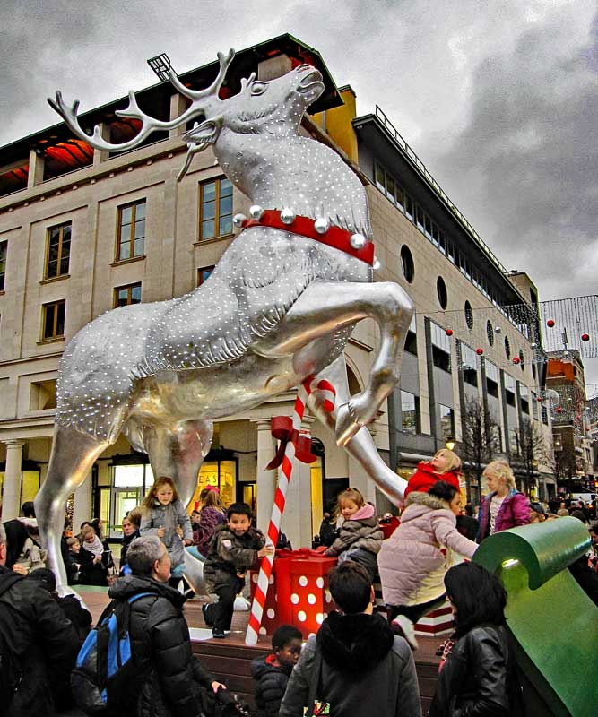 2014 Reindeer Covent Garden