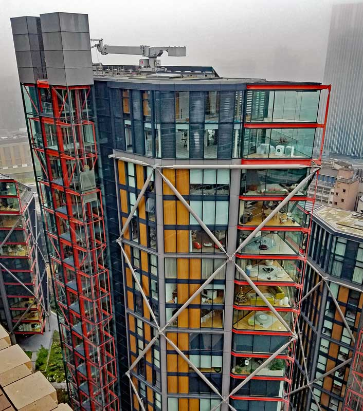 Neo Bankside apartments with privacy issues