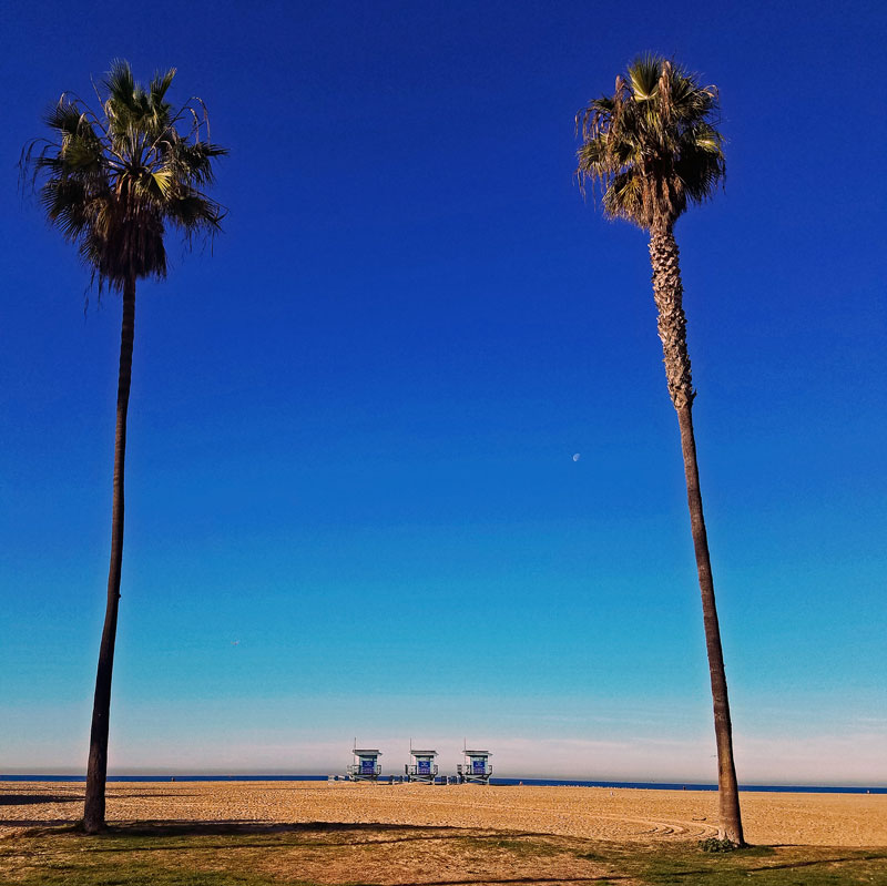 The Beach in Venice where the Doors was formed as Ray Manzarek and Jim Morrison talked while taking a stroll down the beach...
