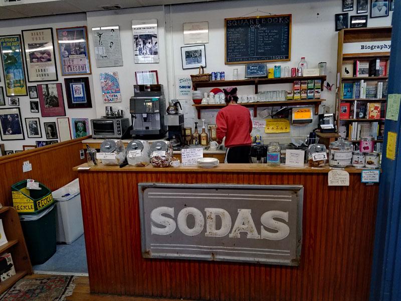 Square books café