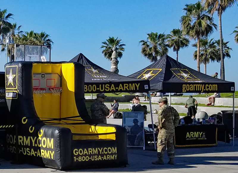 Army event in Venice on Saturday April 1 2017