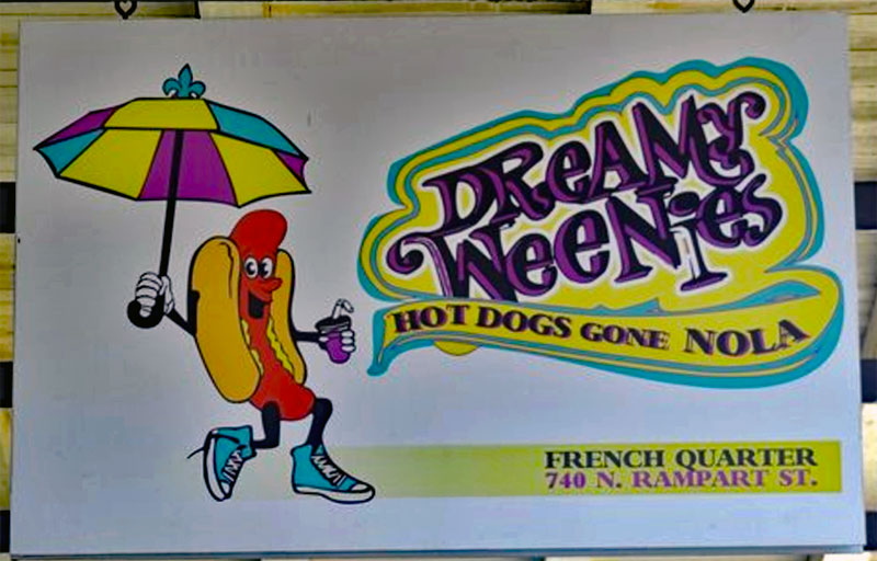 Dreamy Weenies sign
