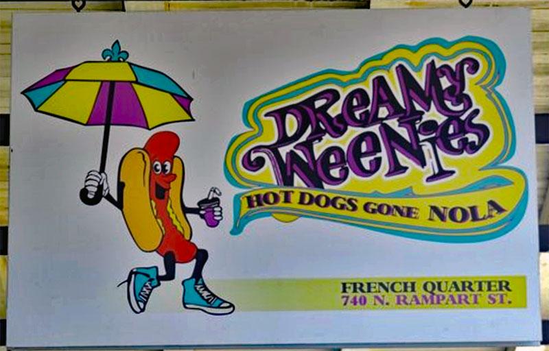 Dreamy Weenies sign