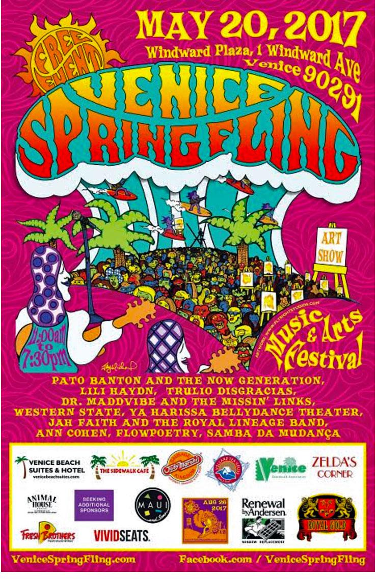 Venice Spring Fling 2017 - Venice Chamber of Commerce poster