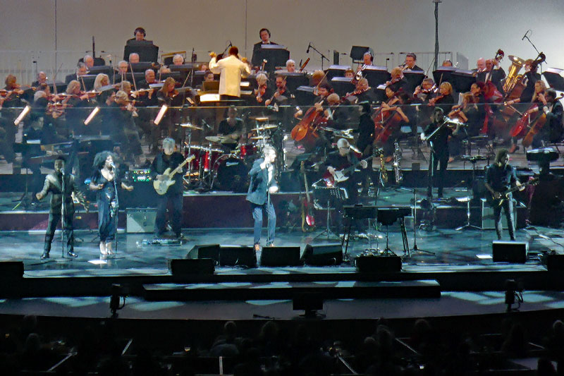 Bryan Ferry performing at the Hollywood Bowl on Saturday August 26 2017