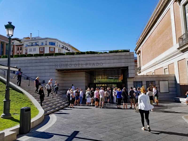 Museo Del Prado Madrid Entrance