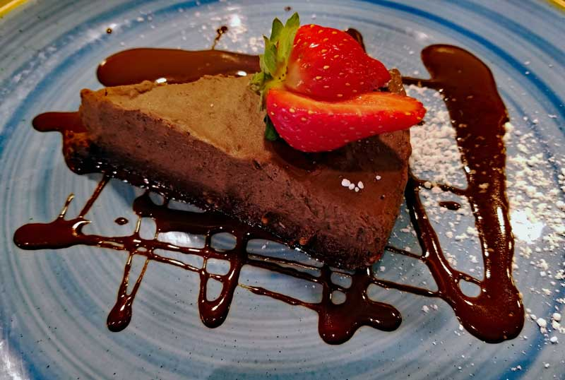 Chocolate mousse cake - ahmazing!
