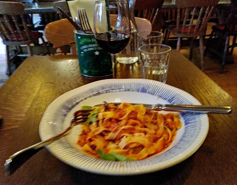 Veggie Tagliatelle Bolognese