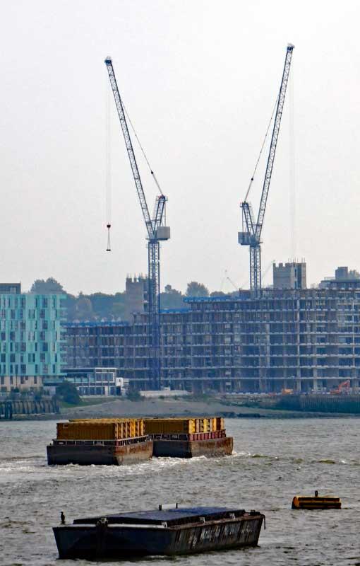 Thames Cranes