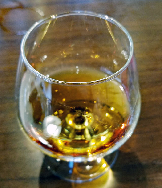 30 Year old Armagnac with a nice amber color and a superb nose.