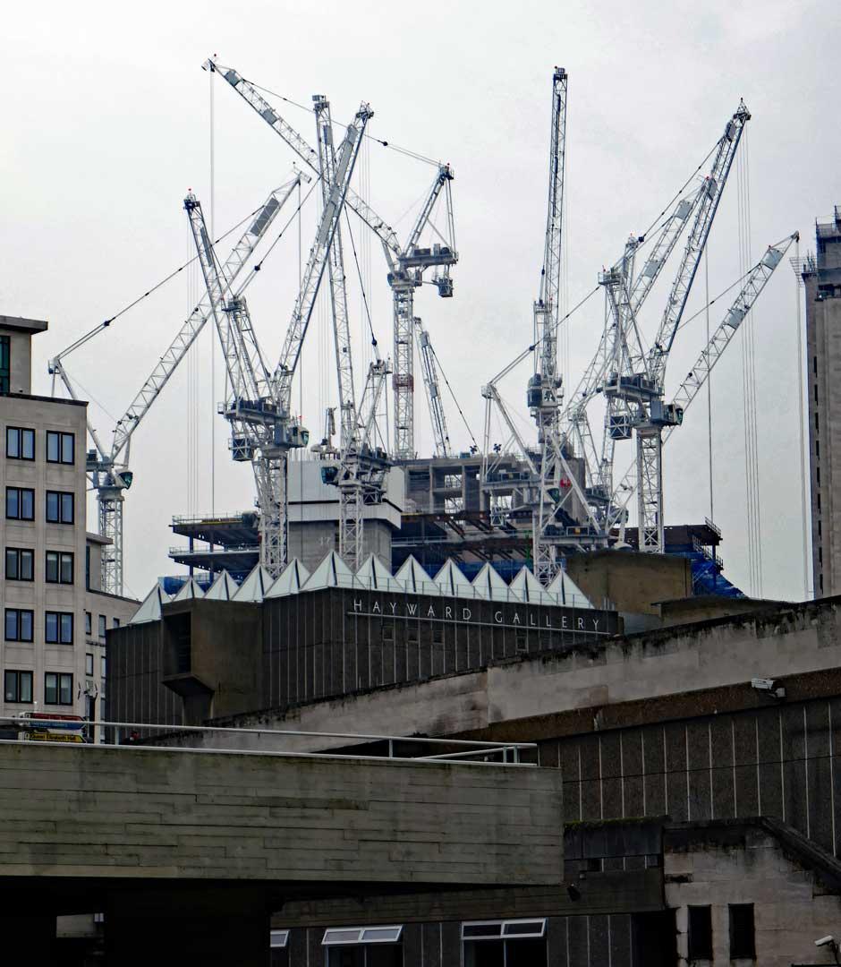 Massive Cranes