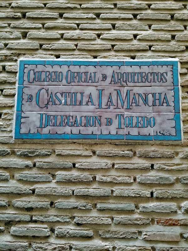 Colegio Oficial De Arquitectos De Castilia La Mancha delegación De Toledo