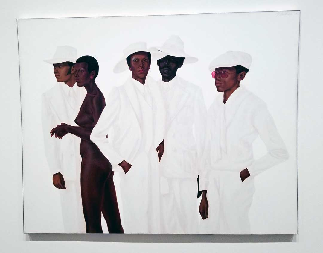 Barkley L. Hendricks, What's Going On (1974) Courtesy of the artist and Jack Shainman Gallery.