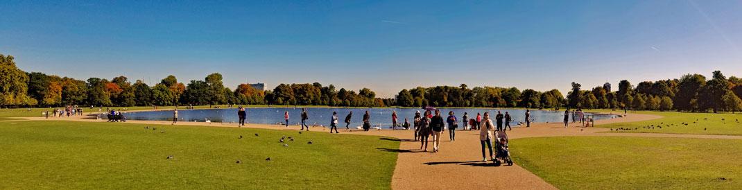 Round Pond in Hyde Park