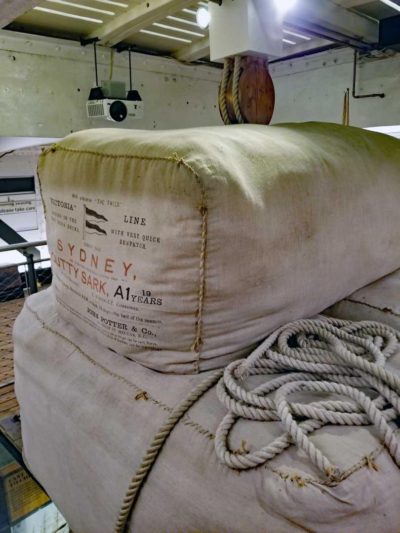 Wool bales from Australia