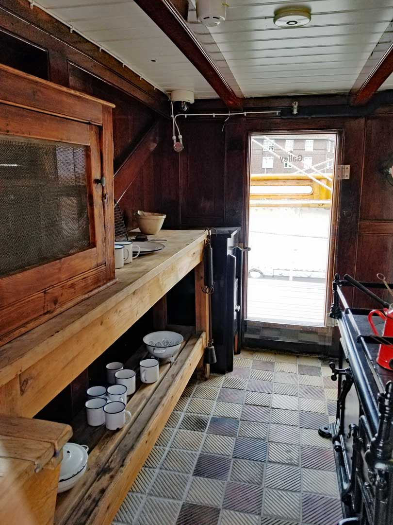 The ships galley