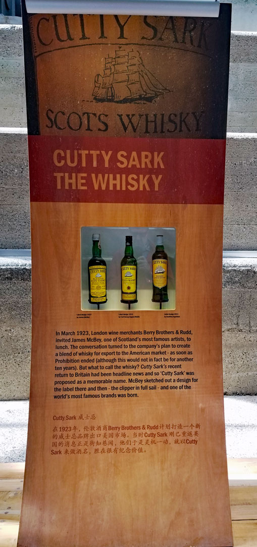 Cutty Sark's namesake Whisky
