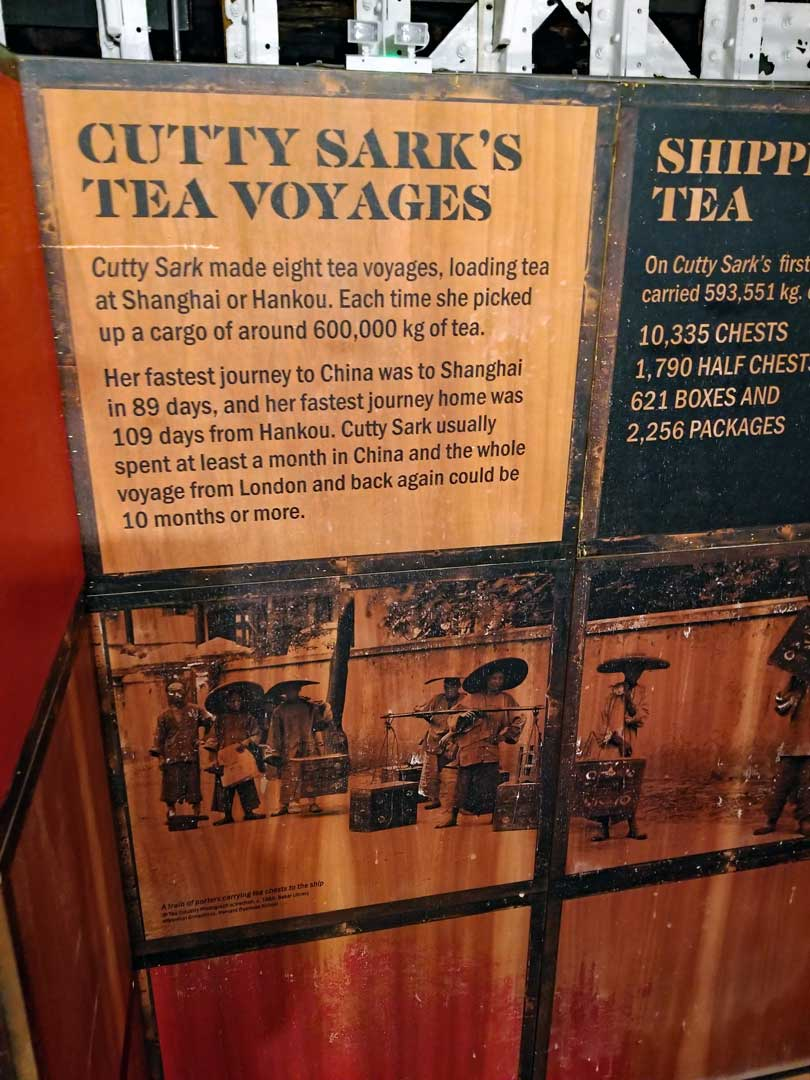Cutty Sark & the Tea trade
