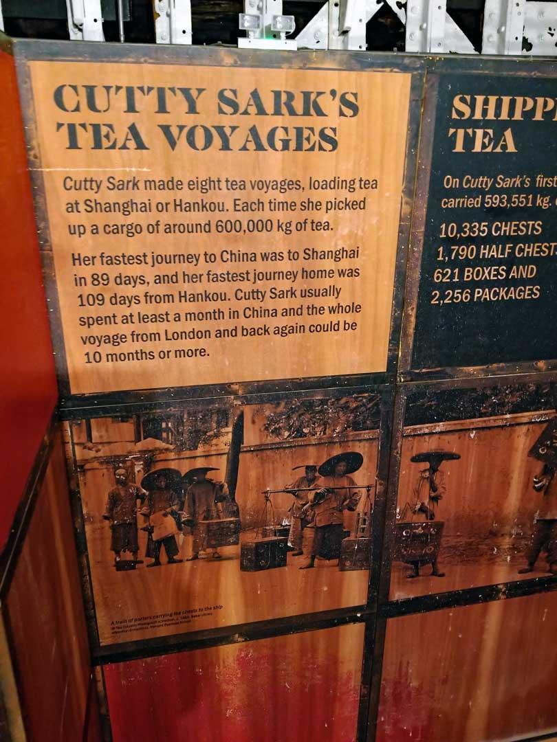 Cutty Sark & the Tea trade