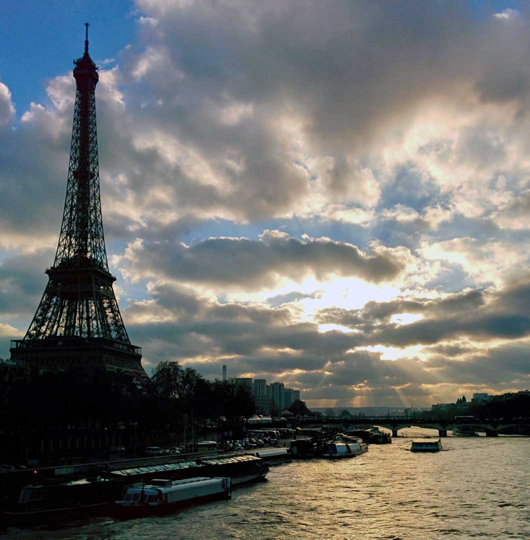 La Seine and la tour Eiffel.