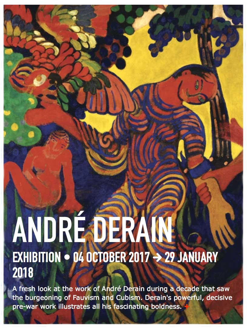 Andre Derain at Center Pompidou Exhibit Poster.